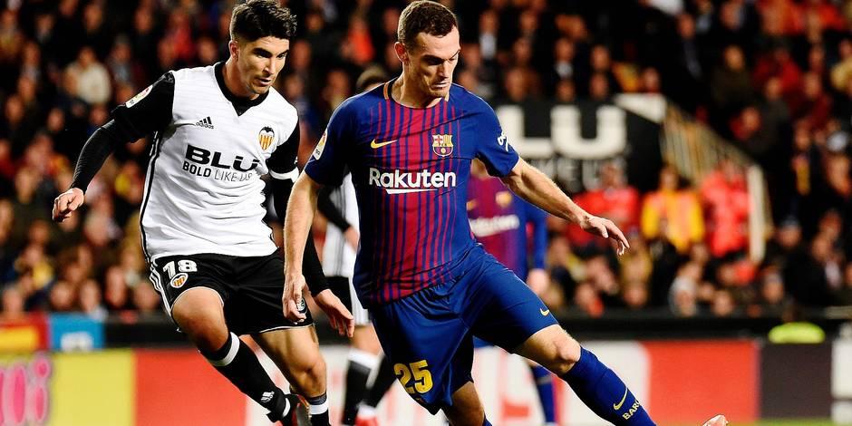 Barcelone - Sporting: À Vermaelen de jouer