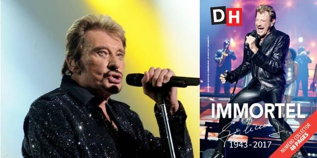 Ce jeudi 7 décembre, la DH édite un supplément gratuit de 48 pages sur Johnny Hallyday - La DH