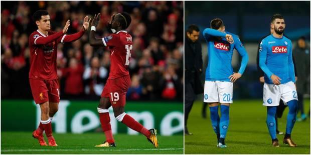 C1: Liverpool écrase le Spartak Moscou, Naples et Dries Mertens filent vers l'Europa league - La DH
