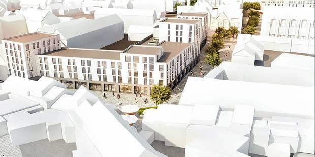 Rénovation du centre de Wavre : les commerçants seront attentifs - La DH