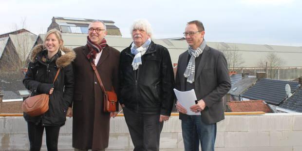 Couillet: 13 nouveaux logements et une maison de repos reconstruite - La DH