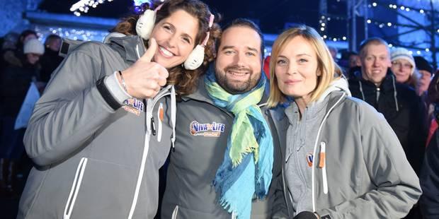 Viva for Life: beaucoup de monde malgré la pluie sur la Grand-Place de Nivelles pour l'entrée dans le cube (PHOTOS) - La...