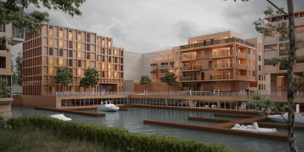 Anderlecht : la marina aura un hôtel 3 étoiles - La DH