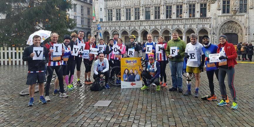 Sept marathons en sept jours pour Didier Bauduin et Vincent Grek