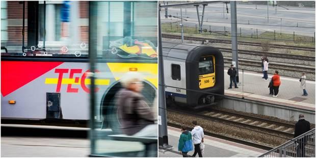 TEC et SNCB vont lancer un 'City Pass' à Liège et Charleroi en juin prochain - La DH