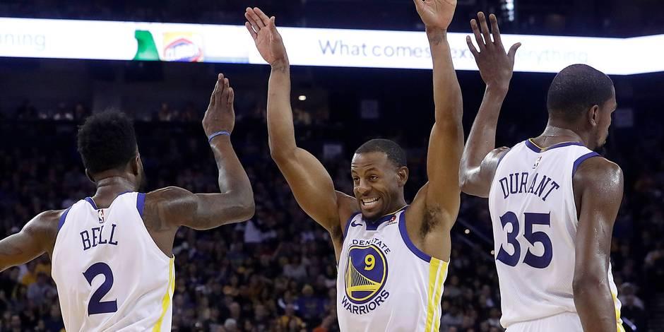 NBA: Golden State poursuit sa route victorieuse, nouvelle défaite de Cleveland