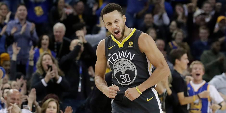 NBA: Stephen Curry éblouissant pour son retour