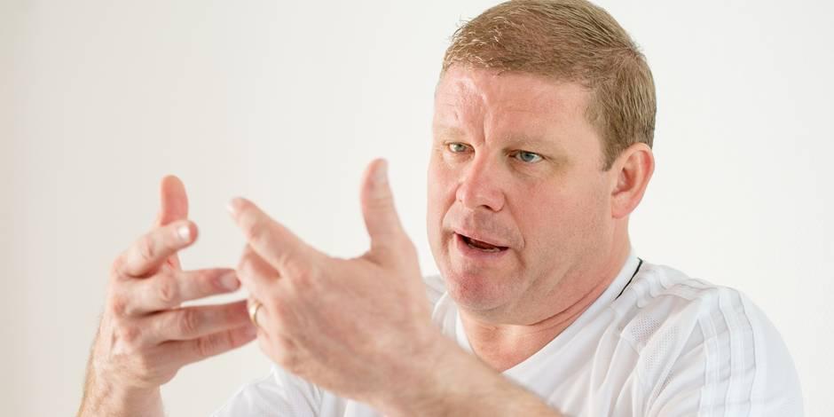 """Vanhaezebrouck se confie dans une interview décalée: """"À 33 ans, j'ai pensé que je pourrais aller à Bruges"""" - La DH"""