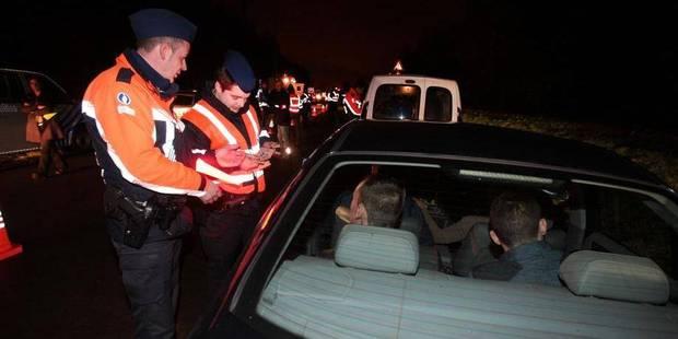 En Hainaut, la police de la route a boudé BOB - La DH