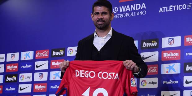 """Atletico Madrid: Diego Costa """"heureux"""" d'être à nouveau joueur - La DH"""