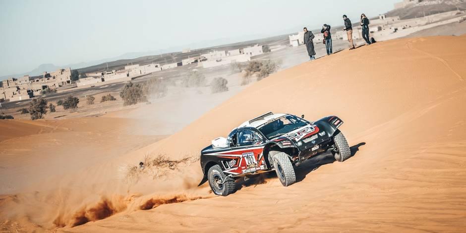 Africa Eco Race, jour 3: Serradori (auto) et Anjos (moto) à l'offensive