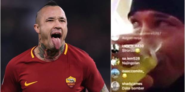 La menace du banc et une amende record, l'AS Rome n'a pas fait dans la demi-mesure avec Nainggolan - La DH