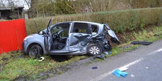 Violent accident à Ogy: la mère de famille a succombé à ses blessures - La DH
