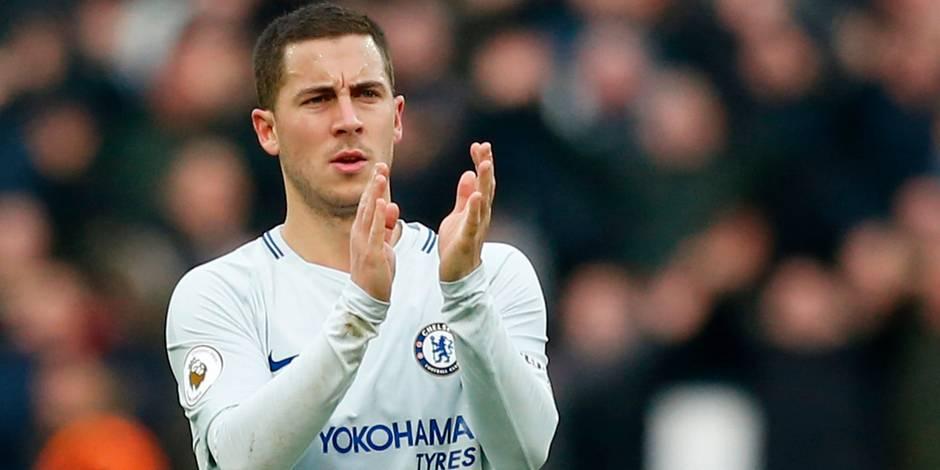 Les beaux cadeaux d'anniversaire de Chelsea et de Lille à Eden Hazard (VIDEO)