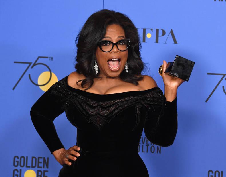 Oprah Winfrey, somptueuse