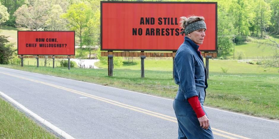 "Les sorties ciné de la semaine : ""Three billboards"", un polar jouissif !"