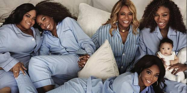 Serena Williams fait la Une du Vogue avec sa fille - La DH