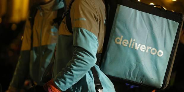 Plus de 130 coursiers de Deliveroo en grève à Bruxelles et à Liège - La DH