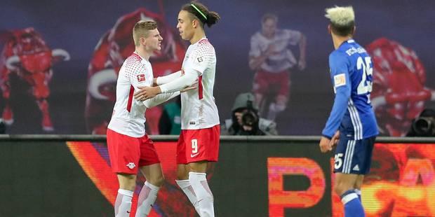 Bundesliga: Leipzig laisse Schalke sur place - La DH