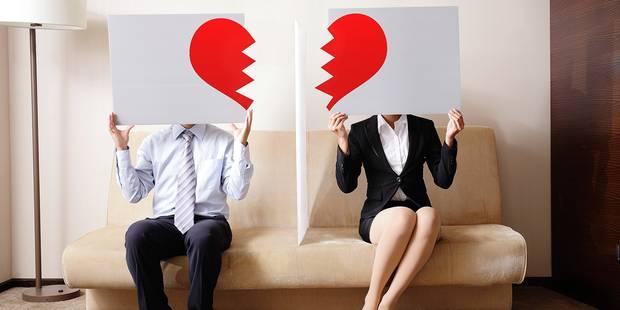 Pourquoi les couples se séparent plus souvent en début d'année - La DH