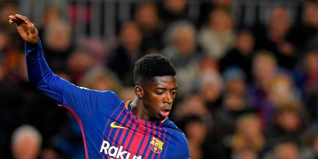 """A peine de retour, Ousmane Dembélé est de nouveau out pour """"trois à quatre semaines"""" - La DH"""
