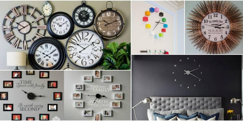 10 idées pour en finir avec les traditionnelles horloges murales