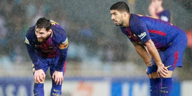 Messi manque un penalty, le Barça s'incline dans le derby en 1/4 de finale aller de la Coupe du Roi - La DH