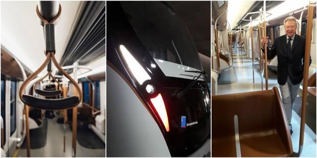 La STIB dévoile ses nouvelles rames de métro (PHOTOS & VIDEO) - La DH