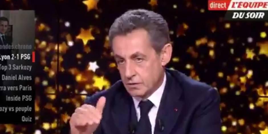 Quand Sarkozy encense... Thomas Meunier !