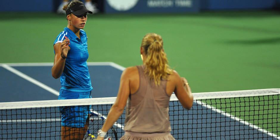En 2009, Caroline Wozniacki privait Yanina Wickmayer de finale à l'US Open !