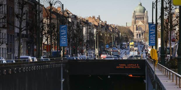Bruxelles : Le tunnel Léopold II sera rénové à partir du 1er mai et sera fermé en juillet et août - La DH