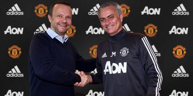 José Mourinho prolonge son contrat avec Manchester United - La DH