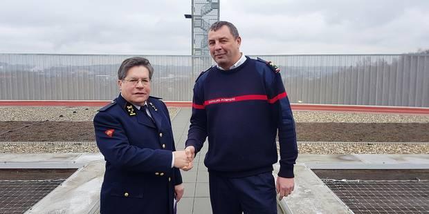ZOHE: Fabrice Pierart, nouveau commandant des pompiers - La DH