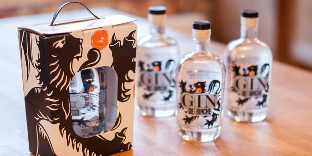 Un couple de Binchois a lancé le Gin de Binche et cela fait un carton ! - La DH
