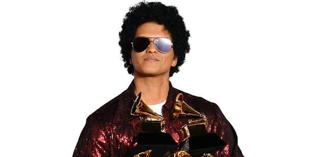 Bruno Mars impérial aux Grammy Awards - La DH