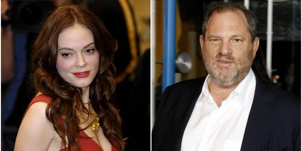 Harvey Weinstein sort de son silence et s'en prend à Rose McGowan - La DH