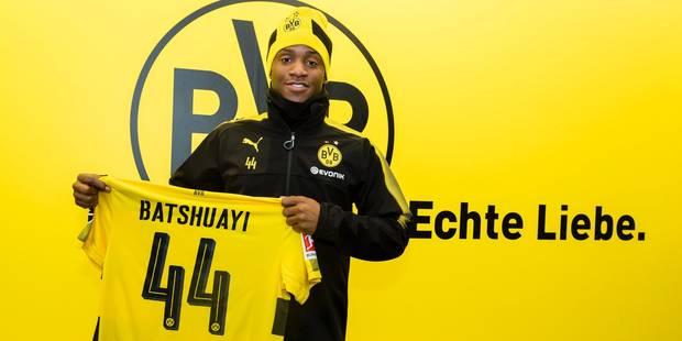 Michy Batshuayi rejoint le Borussia Dortmund (OFFICIEL) - La DH