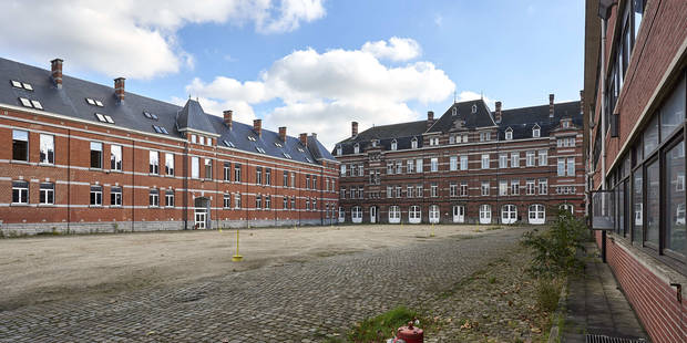 Ixelles: Une école primaire logée provisoirement dans les anciennes casernes - La DH