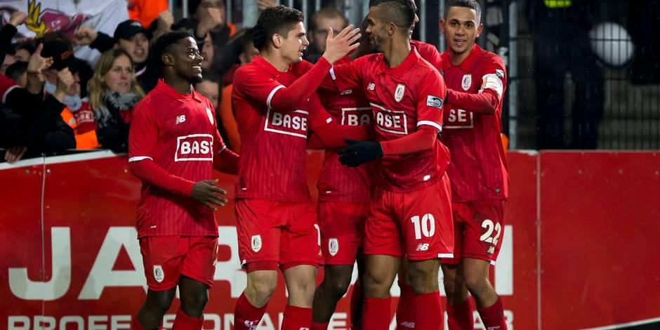 Le Standard confirme sa bonne forme à Lokeren (0-3)