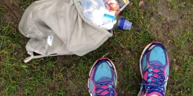 Courir en ramassant des déchets : la séance de sport utile qui muscle - La DH