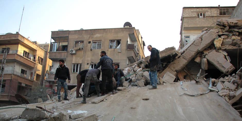 Sept morts dans de nouveaux raids du régime près de Damas — Syrie