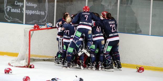 Hockey sur glace: Les Bulldogs tiennent leur revanche - La DH