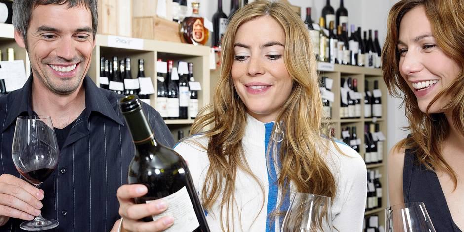 Le Belge reste fidèle aux vins français ! - La DH