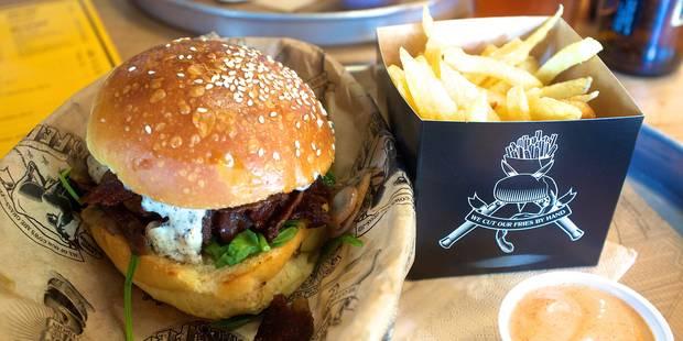 Etterbeek : Manhattn's Burger s'installe au Cinquantenaire - La DH
