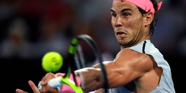 Nadal toujours numéro un mondial, mais sous la menace directe de Federer - La DH