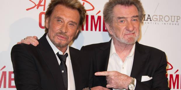 Héritage de Johnny: Eddy Mitchell soutient Laura Smet - La DH