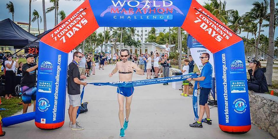 7 jours, 7 continents et 7 marathons
