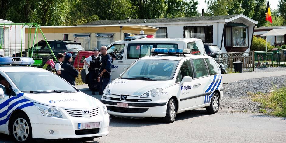 OPERATION POLICE CLOS DES HIRONDELLES GHLIN