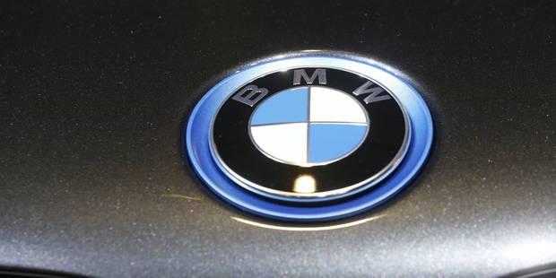 BMW rappelle près de 12.000 voitures pour un problème de software - La DH