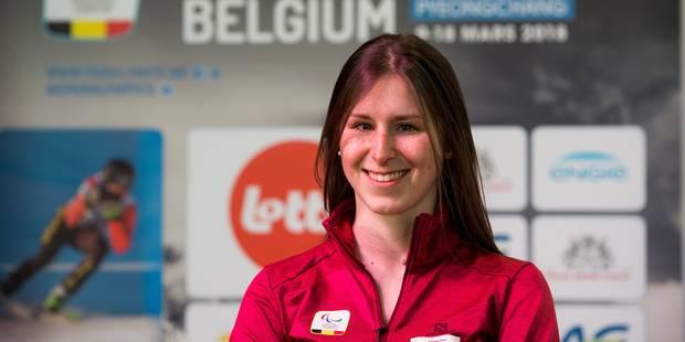 Jeux paralympiques 2018 | La skieuse Eléonor Sana sera la porte-drapeau belge à la cérémonie d'ouverture - La DH